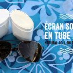Natural roll-on sunscreen