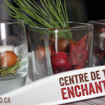 Idée de décoration de bougie: le centre de table enchanteur