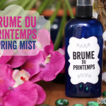 Let's celebrate spring with a floral mist!