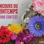 Concours «Le parfum du printemps»