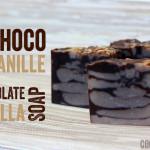 Savon chocolat-vanille