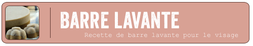 Barre lavante