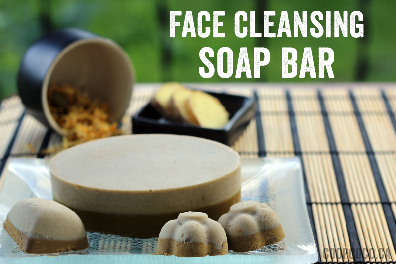 Face cleansing soap bar