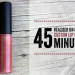 Custom lip gloss in 45 minutes