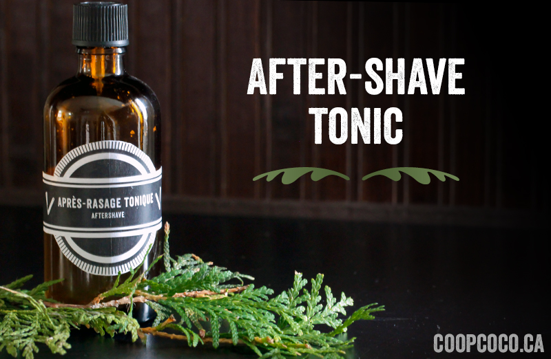 After-shave tonic