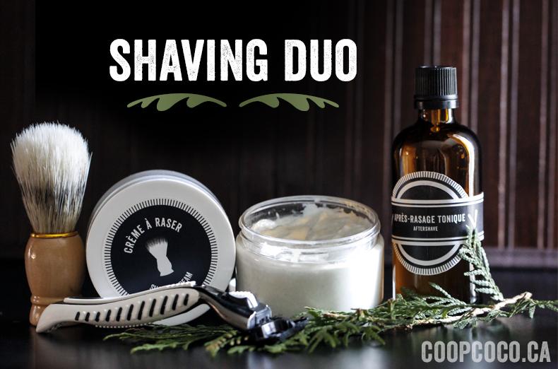 Shaving duo