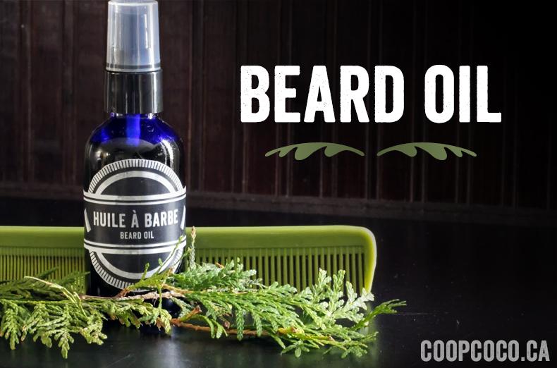 4-step beard oil