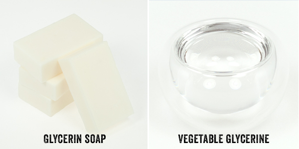 Glycerin soap and vegetable glycerin