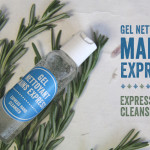 Gel nettoyant mains express