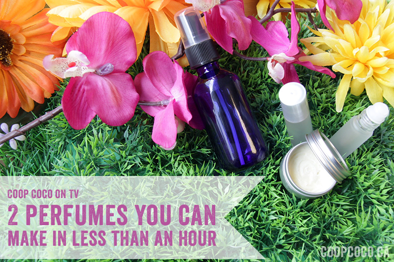 2 perfumes you can make in less than an hour