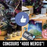 Concours: 4000 mercis!