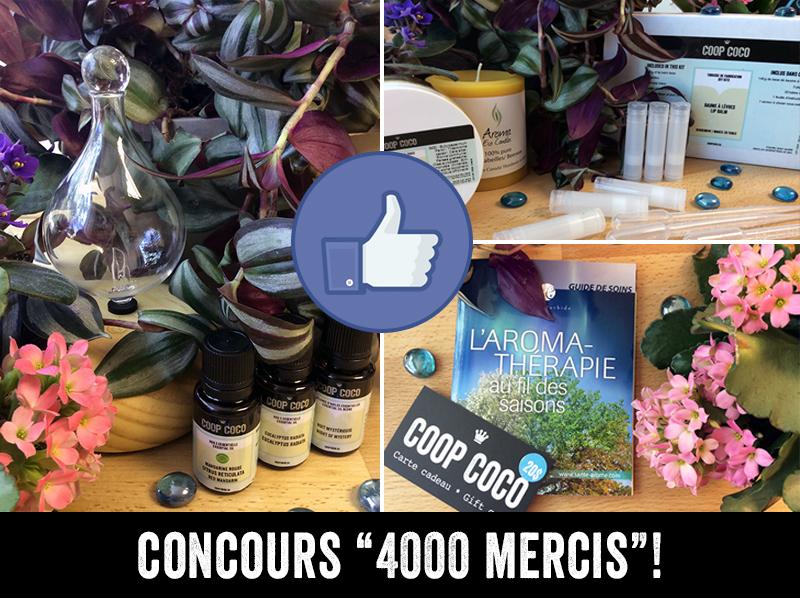Concours 4000 mercis!