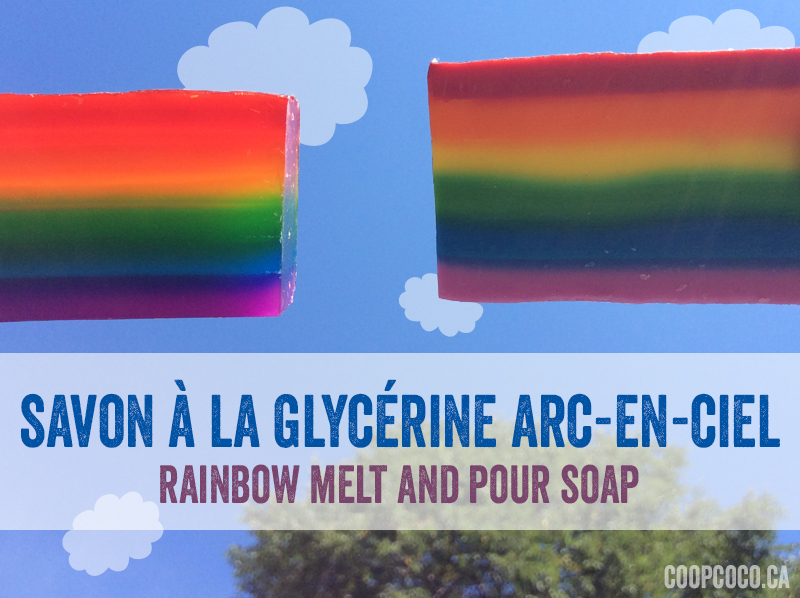 Savon Arc-en-ciel - Rainbow soap