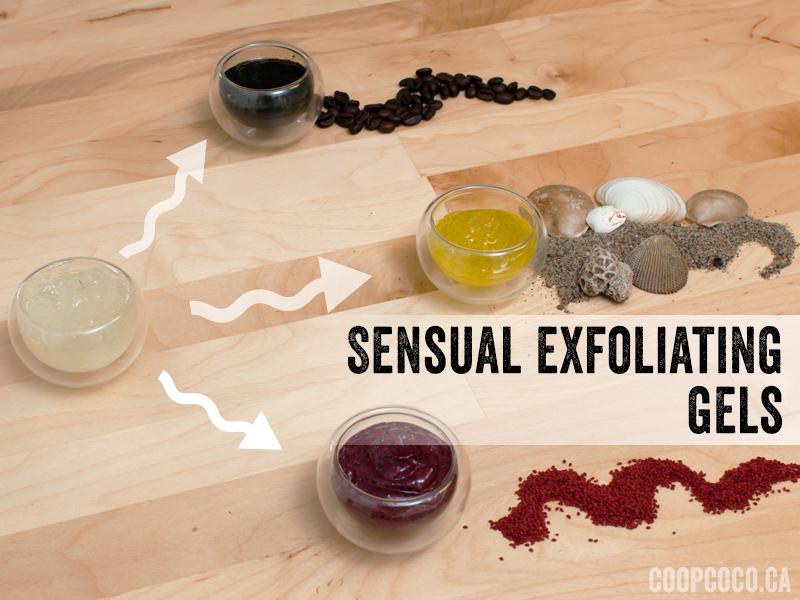 Exfoliant gels