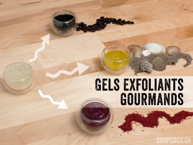 gels exfoliants