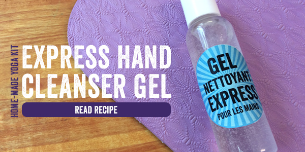 Express hand cleansing gel