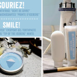 """""""Souriez!"""": gel dentifrice quotidien et menthes rafraîchissantes"""
