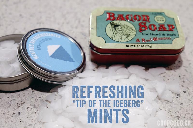 homemade refreshing mints