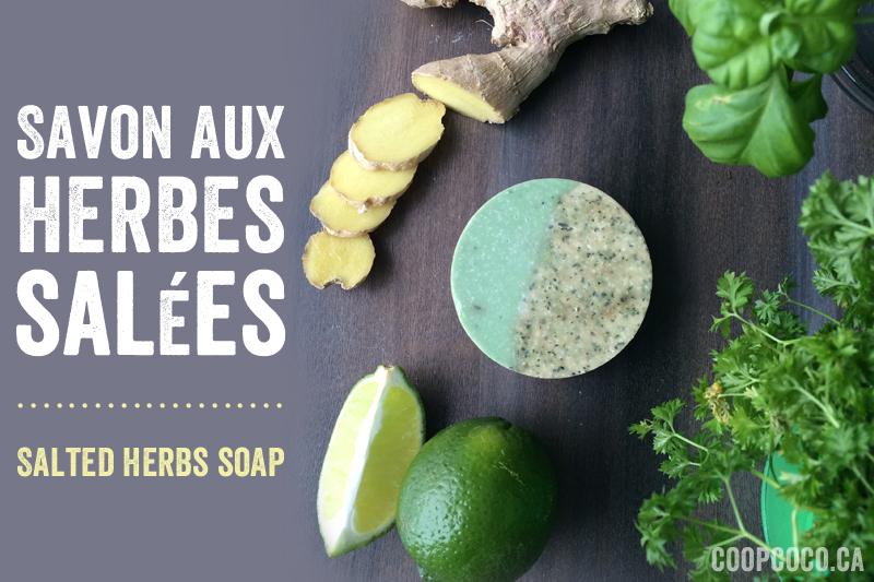 SAvon aux herbes salées - Salted herb soap