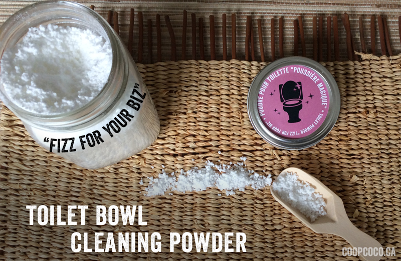 Toilet bowl cleaning powder