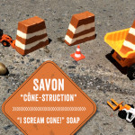 Savon « Cône-struction »