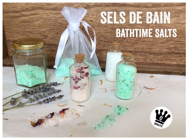 Comment fabriquer ses sels de bain maison how to make for Bain moussant fait maison