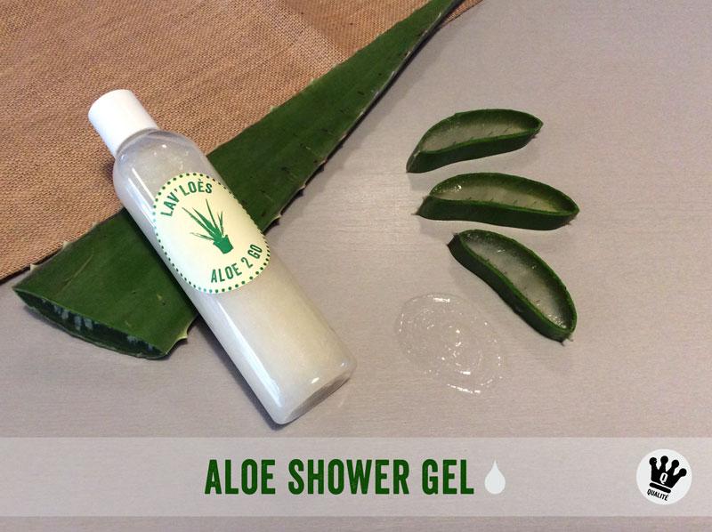 Aloe shower gel