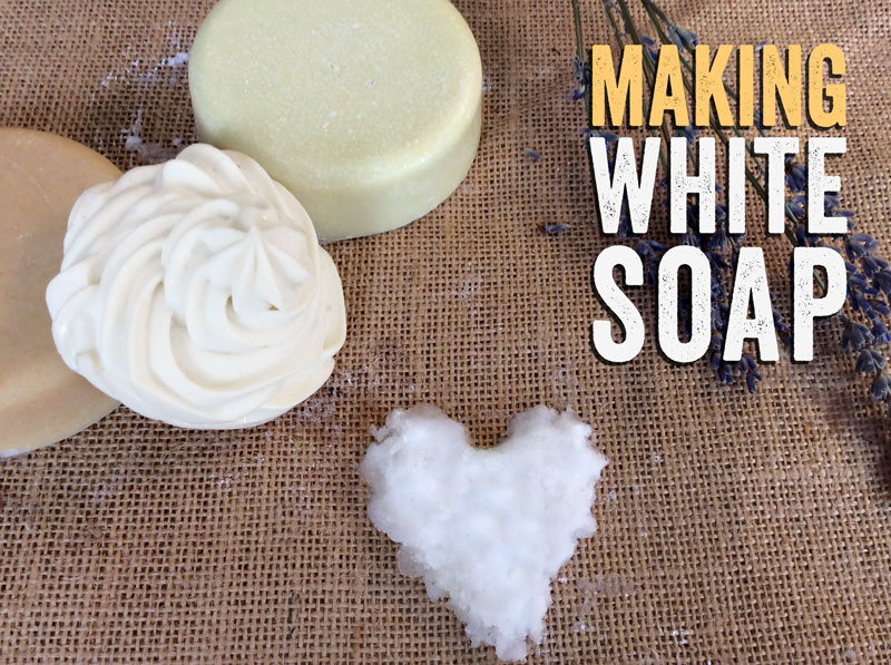 How to make white vegetable soap | Coop Coco