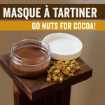 Indulge in our Go Nuts for Cocoa face mask!