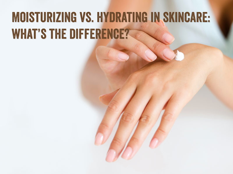 how to hydrate and moisturize the skin