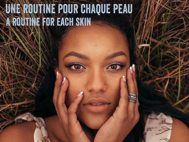 routine naturelle visage