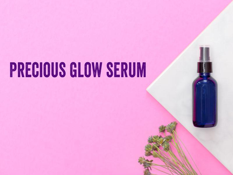 DIY facial serum
