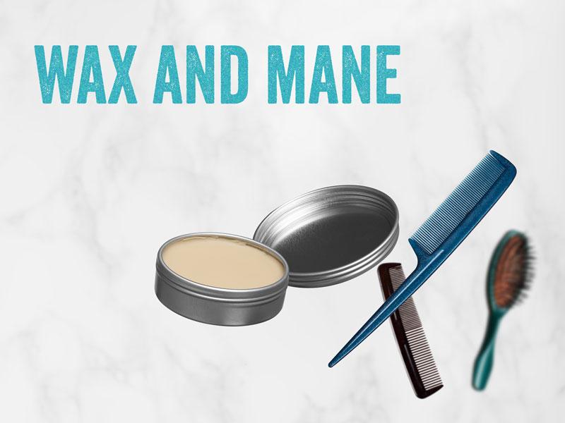 DIY hair wax