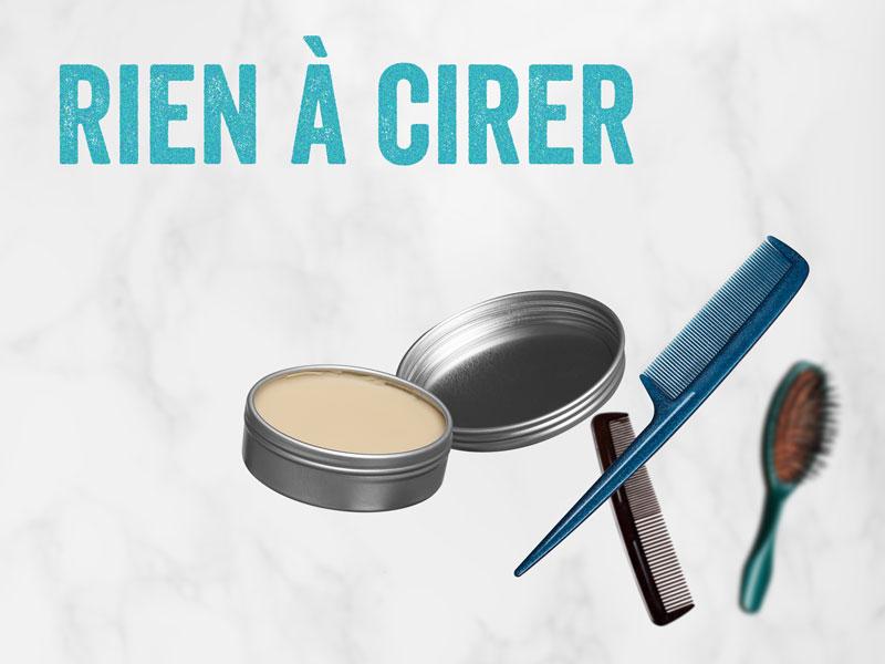 recette de cire pour cheveux