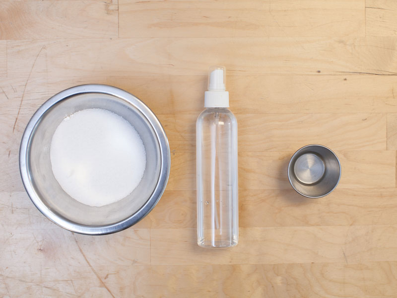 homemade toilet cleaning product