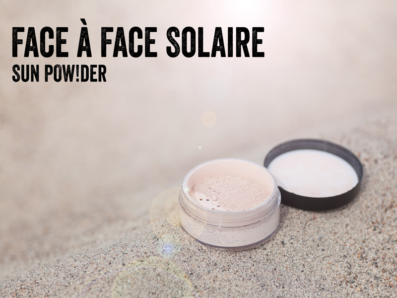 How to make loose face powder