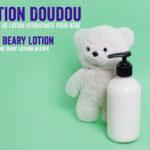 Lotion Doudou prend soin de la peau de nos tout-petits