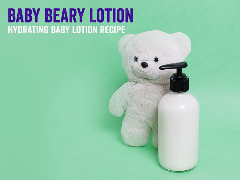 homemade baby lotion