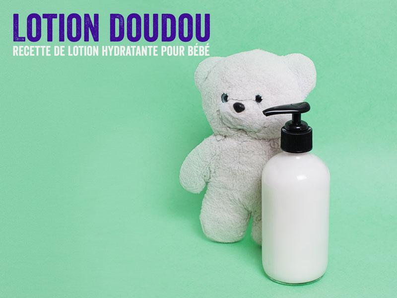 lotion maison pour bébé