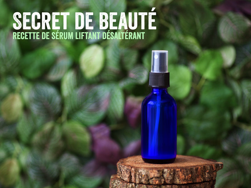 comment faire sérum visage