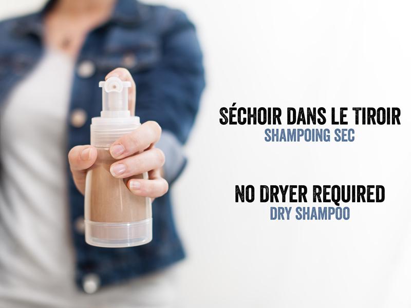 recette shampoing sec