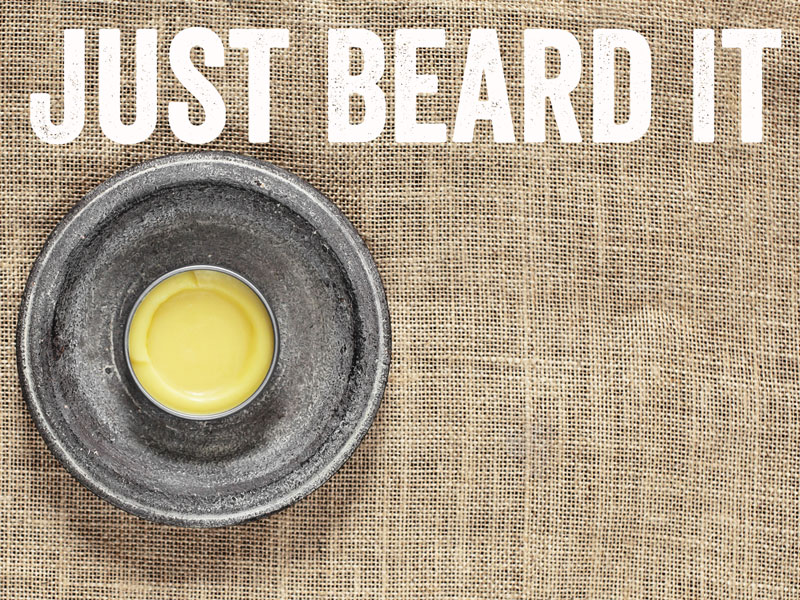 homemade beard balm