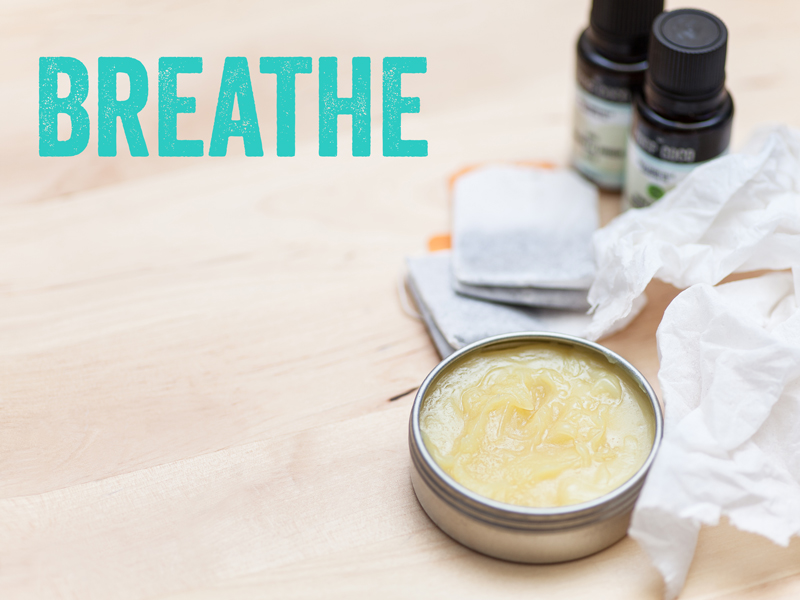 recipe inspired by commercial decongestant balms