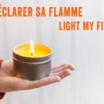 Une bougie de massage maison pour Déclarer sa Flamme