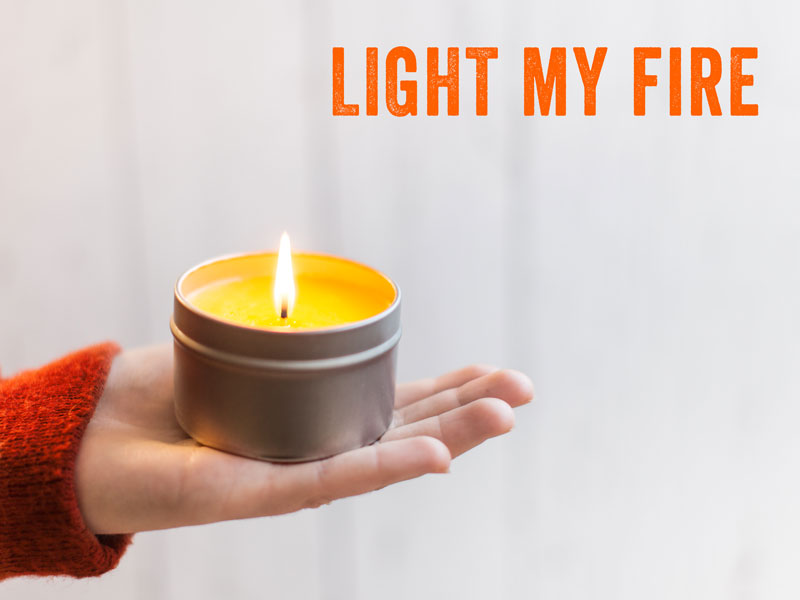 how to make massage candle