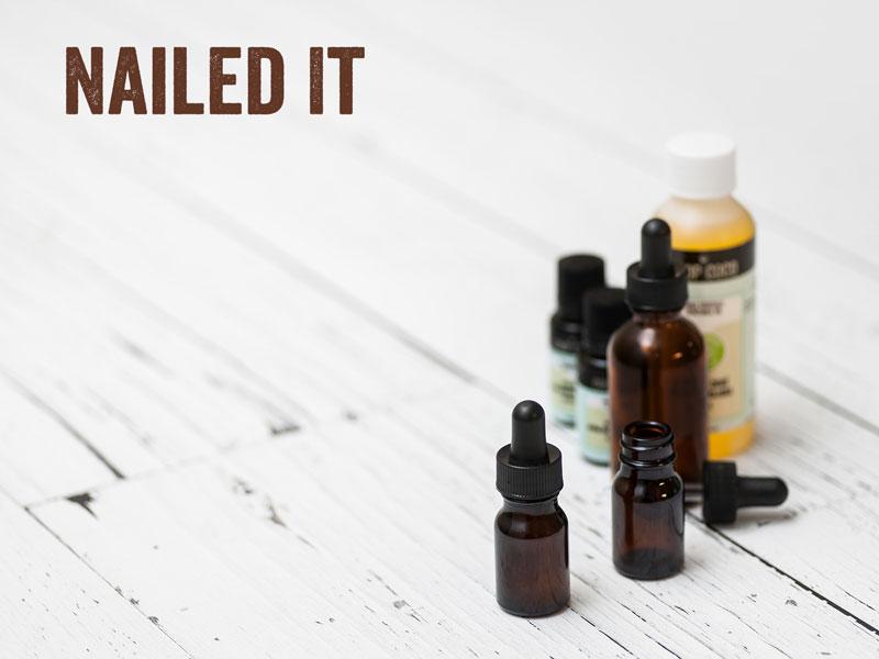 making nail oil