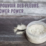 A clay mask recipe with real Flower Power