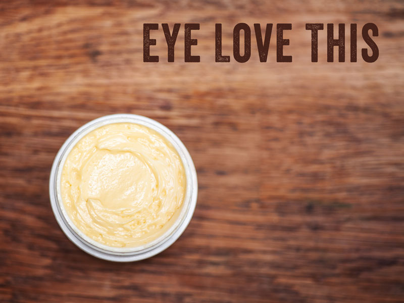 how to make eye cream