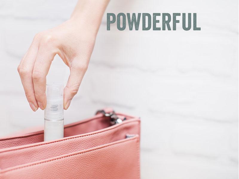 powder deodorant