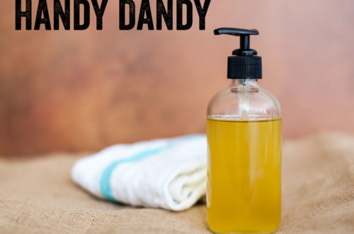 how to make liquid soap